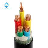 35mm 50mm 95 quadrados. milímetro. 120mm cabo distribuidor de corrente Nyy do PVC de 4 núcleos