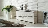 Neuer Entwurfs-Wohnzimmer Furntiure hoher Glanz MDF-Glaskaffeetisch (CJ-147A)