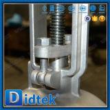 Válvula de puerta eléctrica del acero inoxidable de Didtek API6d/Ce CF8m