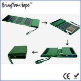 Batería 5W de la energía solar de la potencia plegable la potencia solar del almacenaje (XH-PB-250)