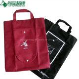 Billig nicht gesponnene faltbarer mehrfachverwendbarer Tote-nichtgewebte faltende Einkaufstasche