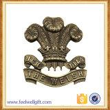 Especial de alta calidad de agente estadounidense insignia Escudo de la policía de aleación de zinc