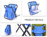 صنع وفقا لطلب الزّبون علامة تجاريّة خارجيّة صيد سمك حقيبة شاطئ نزهة حمولة ظهريّة مع كرسي تثبيت