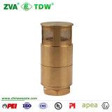De Klep van de Controle van de Voet van het Messing van de filter voor de Pomp van de Automaat van de Brandstof (tdw-CP)
