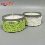 Hübsche Zinn-Kerzen gebildet durch natürliches Sojabohnenöl-Wachs