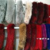Утеска прокладки шерсти Fox изготовления/шерсти/ворот шерсти куртки, виды ворота шерсти для вниз подгонянной куртки