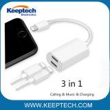 Для iPhone 7 / 7 плюс 2 в 1 двухпортовый адаптер для кабеля 8 контактный разъем для наушников аудио адаптер для зарядки и Разветвитель кабеля