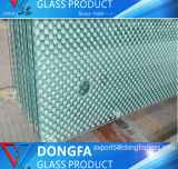 De couleur claire / / / Le verre trempé de sécurité trempé teinté PVB bâtiment en verre feuilleté