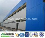 Edificio per uffici della struttura d'acciaio con i multi pavimenti