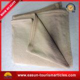Одеяло шерстей пригодного для носки хода толщиное для самолета и гостиницы