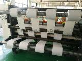 Etiqueta auto-adesiva Rebobinador Cortador Guilhotinagem máquina de linha de alta velocidade