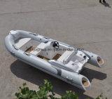 Bateau gonflable de côte de sport de la Chine Liya 4.3m avec le moteur