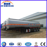 Camion-citerne de pétrole de pétrole d'acier du carbone de 45000 litres
