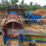 Gt1545 Movable Trommel Gold Mining Washing Seedling