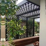 Het decoratieve Scherm van de Dekking van het Aluminium voor Tuin