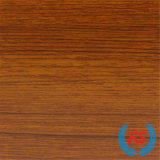 Papel impregnado melamina de madera de la serie del grano de la teca para Blockboard