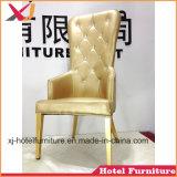 نوع ذهب/بيضاء [لوف ست] كرسي تثبيت وحيدة لأنّ عرس/مطعم/فندق/مأدبة/[هلّ] حادث