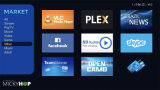 Le streaming en direct l'IPTV, Quad Core canaux Portugel Android TV Box