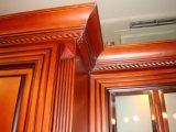 Armário de cozinha desenhos sólidos de madeira armário de cozinha de madeira