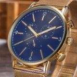OEM het Polshorloge van de Mens van de Douane, het Horloge van de Manier van het Kwarts, Pols voor Mensen wordt gelet op (wy-17016A die)