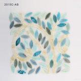 나무 모양 목욕탕 벽을%s 장식적인 유리제 모자이크 타일