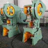 自動車部品J23 80トンの傾向がある金属の打つ機械装置力出版物打つ機械