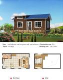 경제 고품질은 빨리 Prebuild 가벼운 강철 별장 집을 조립한다