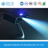 Scanner obiettivo bianco 3D di funzionamento facile di alta precisione LED
