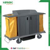 Cuidados de saúde de alta segurança Carrinho de Serviço de Limpeza