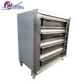 Big électrique équipement de boulangerie de Gaz de four à pizza au feu de bois four Double Deck prix Four Tandoor