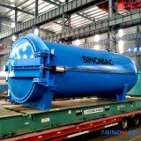 3200X6000mmの完全なオートメーションの水平の蒸気暖房のゴム製加硫オートクレーブ