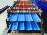 La Chine en métal ondulé d'alimentation de la plaque de toiture en acier