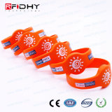 Imperméable bracelet RFID NFC Silicon programmable