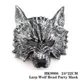 Larp Wolf Máscara de parte da cabeça 24*22cm HK9006