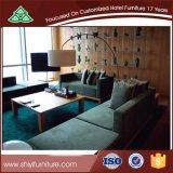 ソファーは居間のソファーの現代デザインホテルおよびホームでセットした