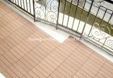 De Waterdichte Vloer WPC Houten Plastic Samengestelde OpenluchtDecking van de goede Kwaliteit