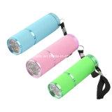 Новый дизайн домашнего использования мини-фонарик СВЕТОДИОДНЫЙ ИНДИКАТОР пальцев лак для ногтей УФ лампы