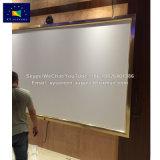 120 Scherm van de Projector van het Frame van de duim het Permanente Vaste met Gouden Frame