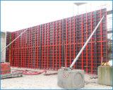 コラムのための鉄骨フレームの壁の具体的な型枠