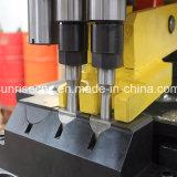 Hydraulisch Automatisch Ponsen en het Merken van Machine voor de Platen van het Staal