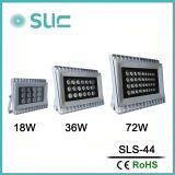 Indicatore luminoso impermeabile del punto di 18With72W IP65 DC24V LED per esterno/progetto (SLS-44)