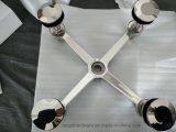 Корпус из нержавеющей стали с фиксированной точки наружной стены из стекла Spider (TG204-4)