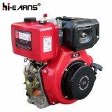 Motor diesel con el árbol de levas y el filtro de aire normal (HR186FS)