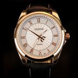 Orologio impermeabile di vendita caldo di modo della vigilanza degli uomini della vigilanza del quarzo di affari H336