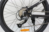 Bicicleta de montanha elétrica da assistência do frame de alumínio de 26 polegadas com os choques traseiros