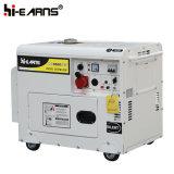 générateur diesel silencieux de la couleur 6kw argentée (DG8500SE)