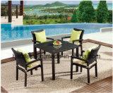 /Rattan extérieur/Tableau de Chair& de rotin de meubles hôtel de jardin/patio a placé (HS1211C&HS7090DT)
