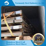 Hoja de acero inoxidable del final de ASTM 201 No. 4 para la construcción
