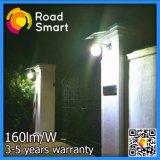 12W neues intelligentes LED Solarstraßen-Garten-Licht mit Lithium-Batterie