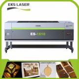 1610 CO2 gravura a laser CNC máquina de corte de madeira MDF de acrílico branco